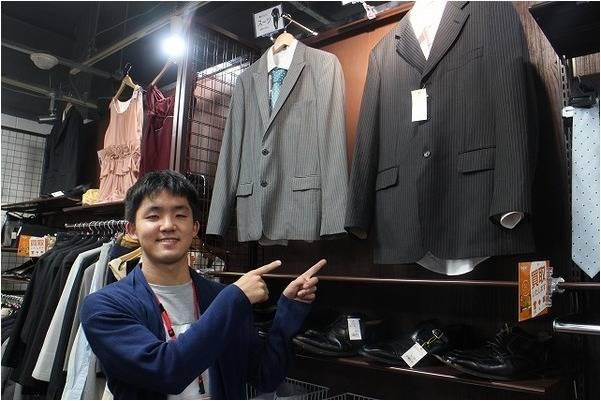 スーツ、ネクタイ、ドレスから幅広く買い取りを行っております!![ユーズレット本川越店]