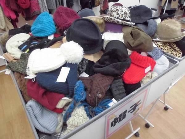 【明日は久喜の日セール!】なんと帽子が・・・・・・・・!?