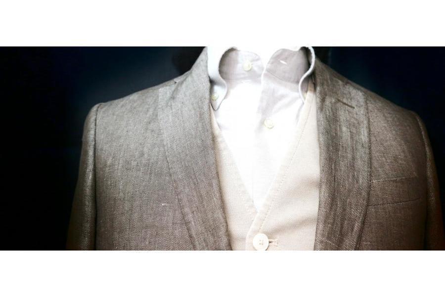 「店舗からのお知らせのスーツが980円から 」