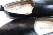 ナチュラルな革靴を、MARGARET HOWEL idea (マーガレットハウエル アイデア)スリッポンシューズ入荷。