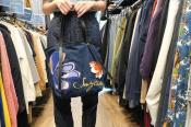 【SEE BY CHLOE/シーバイクロエ】バックで差をつける・デニム刺繍トートバック入荷!!