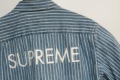 【SUPREME/シュプリーム】レアアイテム入荷!?人気モデルカラーstripe denim s/s shirtのご紹介