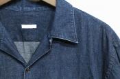 【COMOLI/コモリ】春先大活躍のデニムオープンカラーシャツ入荷!!