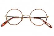 【megane and me/メガネアンドミー】より10角形レンズの伊達眼鏡が入荷しました