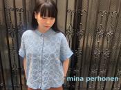 【mina perhonen/ミナペルホネン 】より刺繍リネンブラウスが入荷しました!