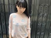 【mina perhonen/ミナペルホネン】より ちょうちょ刺繍ワイドコットンニットが入荷しました!