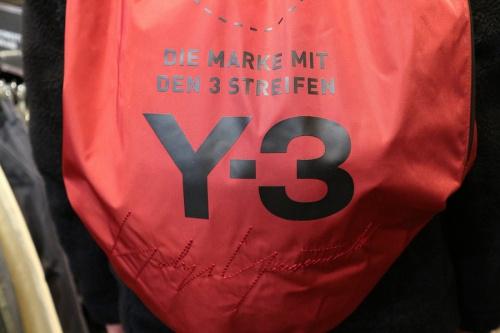 Y-3のヨウジヤマモト