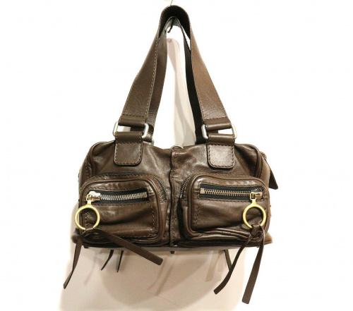 クロエのレザーハンドバッグ