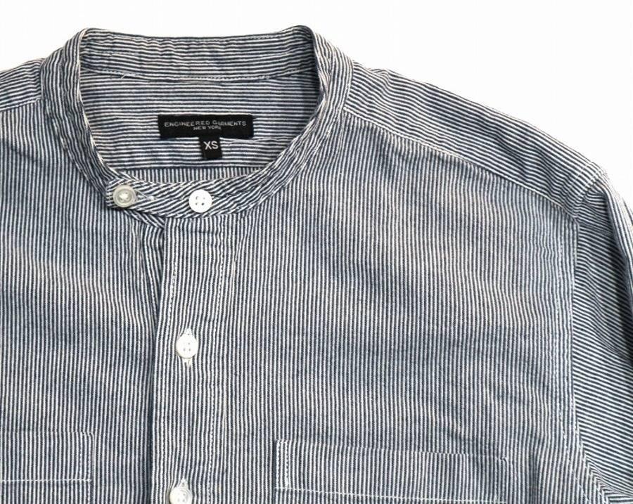 【定番アイテム】Engineered Garments(エンジニアド ガーメンツ)からトラッド感漂うプルオーバーロングシャツが入荷しました。【古着買取 トレファクスタイル市川店】