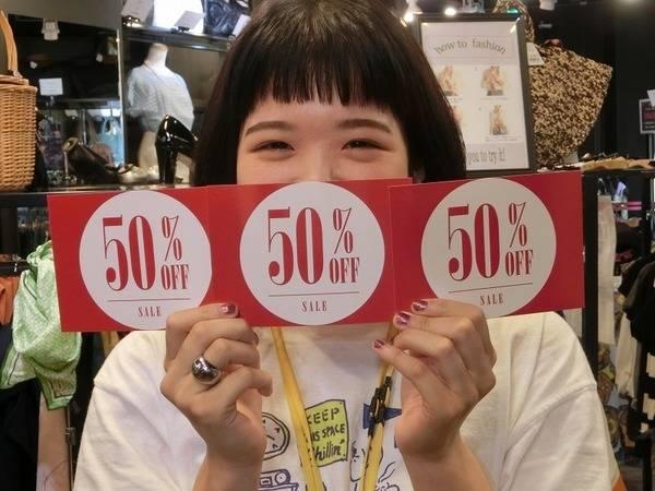 【追撃SALE!!】まだまだ続く!!21.22はトレファクスタイル市川店まで!!