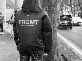 「ストリートブランドのuniform experiment × FRAGMENT DESIGN 」