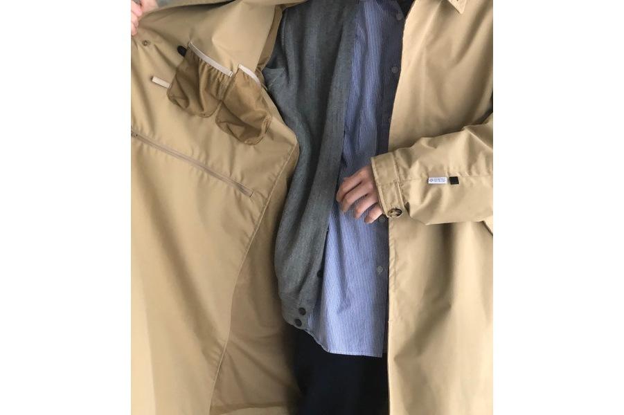 GORE-TEX INFINIUM Loose Soutien Collar Coat