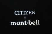 CITIZENとmont-bellのコラボ!!