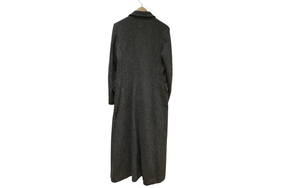 グレンチェックのコート
