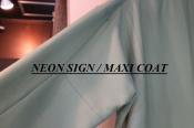 NEON SIGN(ネオンサイン)から人気のマキシコート買取入荷
