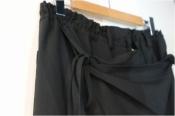 ブランドの真髄【GROUND Y】レイヤードスカートパンツ