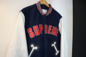 【18AW】SUPREME Bone Varsity Jacket  入荷しました