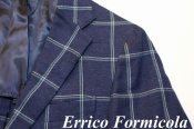 Errico Formicola(エリコフォルミコラ)の洗練された春物アンコンジャケット入荷
