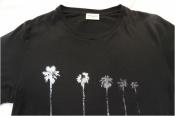 Saint Laurent Paris【palm print T-shirt】
