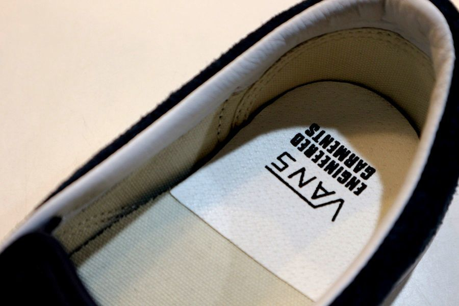 「ワークブランドのEngineered Garments×VANS 」