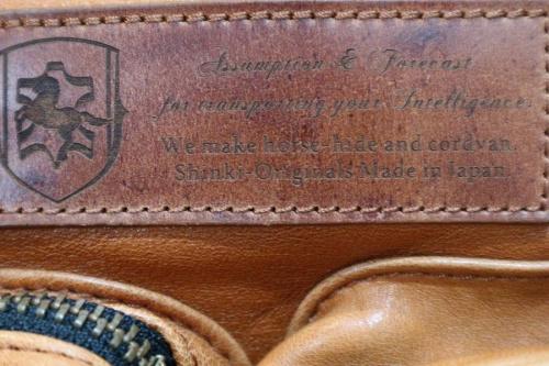 レザーのボストンバッグ