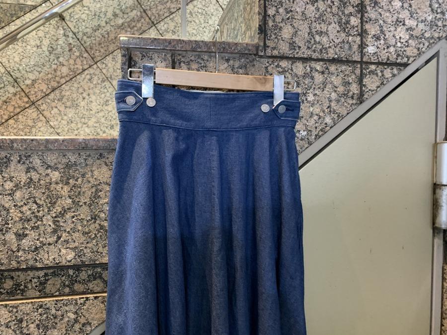 デニムグルカスカート