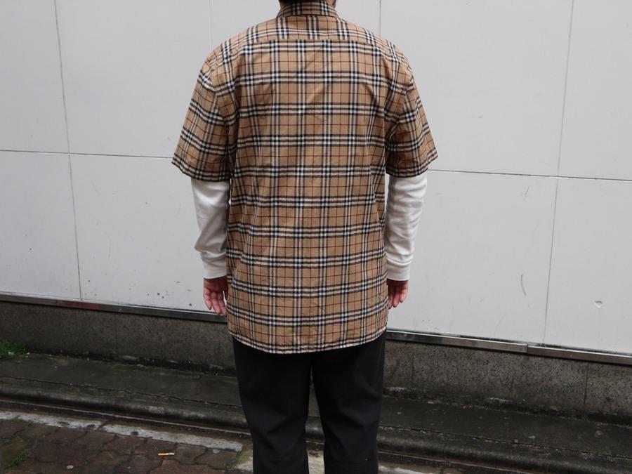 バーバリーのノヴァチェックシャツ