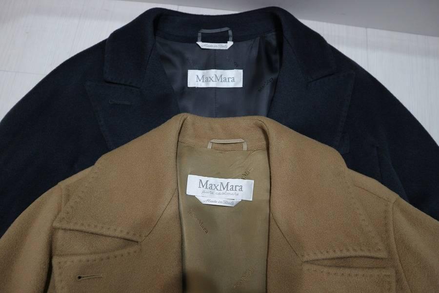 ビジネスにもデイリーにも。MAXMARAのカシミヤコートを。【古着買取トレファクスタイル新小岩 古着屋ブログ】