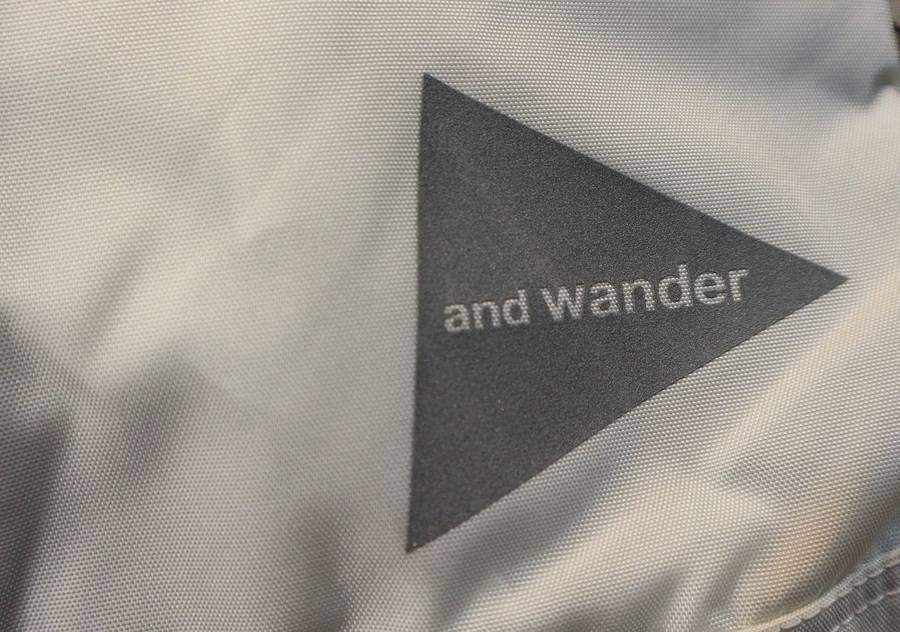 東京生まれのアウトドア 【and wander】【古着買取トレファクスタイル新小岩】