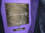 MACKINTOSH(マッキントッシュ)のステンカラーコートが入荷いたしました!