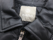 nano・universe(ナノユニバース)SHEEPレザーシングルライダースジャケットが入荷しました!