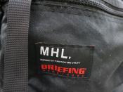 BRIEFING×MHL(ブリーフィング×エムエイチエル)バックパックが入荷しました!