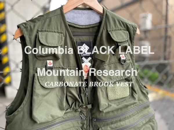 「アウトドアブランドのColumbia BLACK LABEL x MOUNTAIN RESEARCH 」