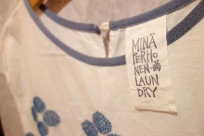 「ナチュラルブランドのmina perhonen laundry 」