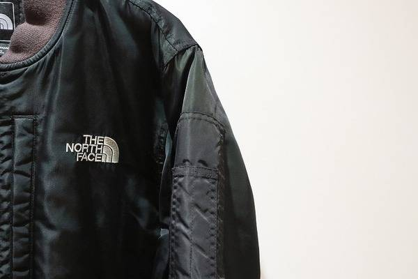THE NORTH FACE(ザノースフェイス)から、まるでMA-1ジャケットのようなフォルム??Q THREE JACKET MA-1が入荷!!