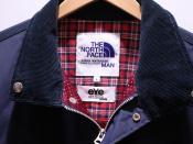 THE NORTH FACE(ザ・ノースフェイス)×JUNYAWATANABE(ジュンヤワタナベ)のcontrast collar buttoned jacketが入荷。