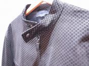 GUCCI(グッチ)からGG柄のシングルライダースジャケットが入荷。