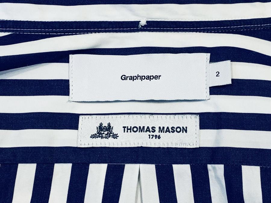 「ドメスティックブランドのGraphpaper × THOMAS MASON 」