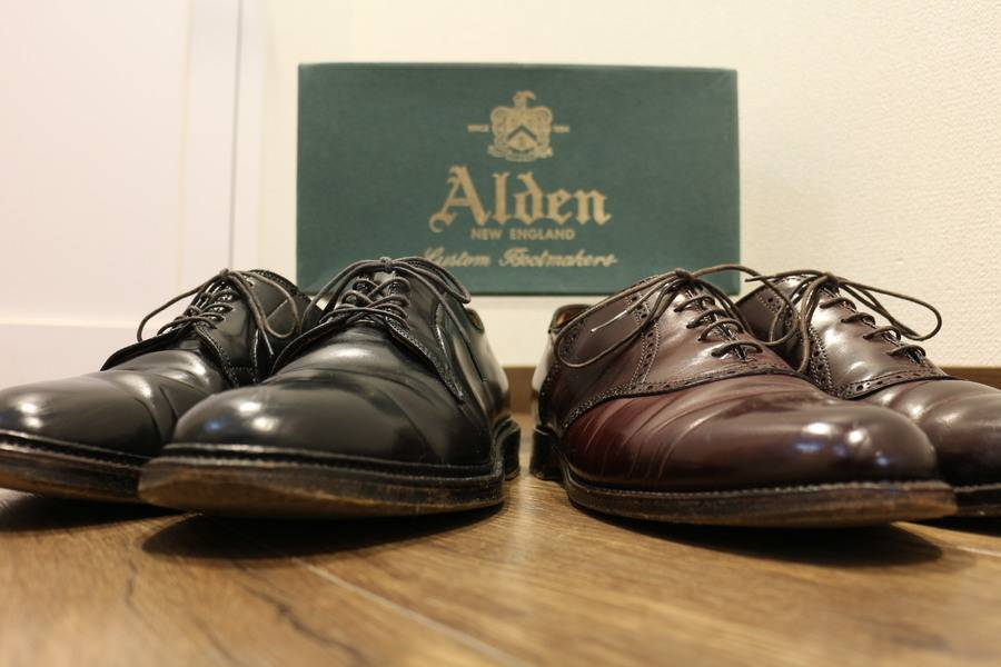 ALDEN(オールデン)... コードバン 994・9901が入荷いたしました!トレファクスタイル稲毛店。古着買取入荷情報。