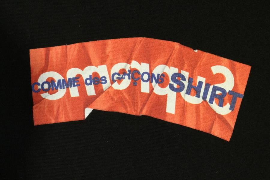 Supreme(シュプリーム)から17SSのComme des GARCONS(コムデギャルソン)コラボのボックスロゴパーカーが入荷!【古着買取 トレファクスタイル稲毛店】