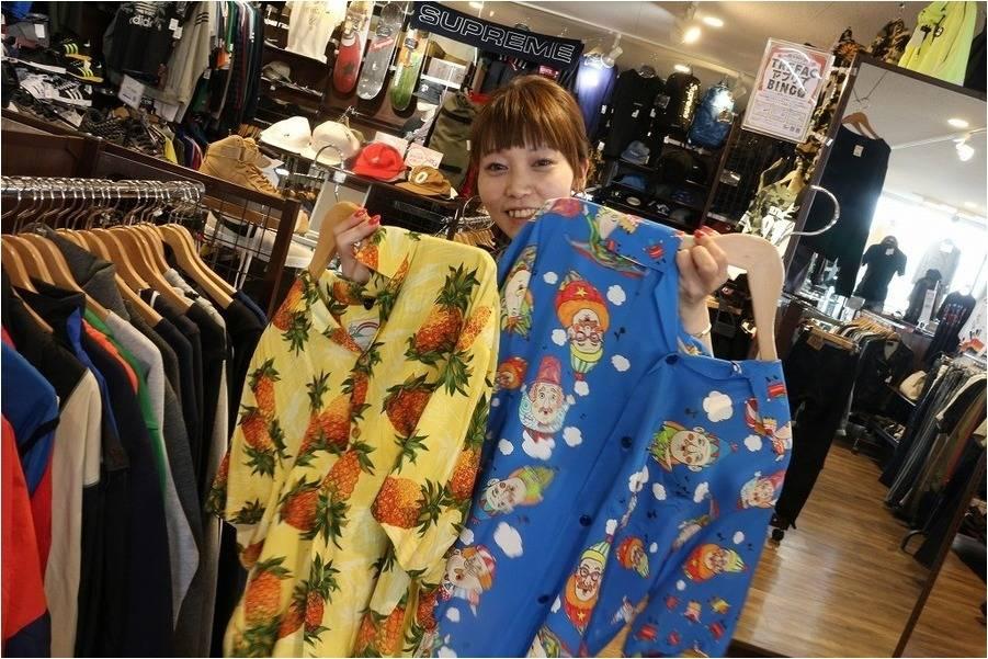 18SS、今年の夏の主役「アロハシャツ」をご紹介!!Sunsurf(サンサーフ)やreyn spooner(レインスプーナー)など多数ございます!!【古着買取 トレファクスタイル稲毛店】