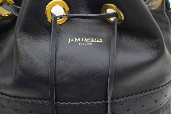 J&M DAVIDSON フリンジ巾着ショルダーバッグ買取入荷!