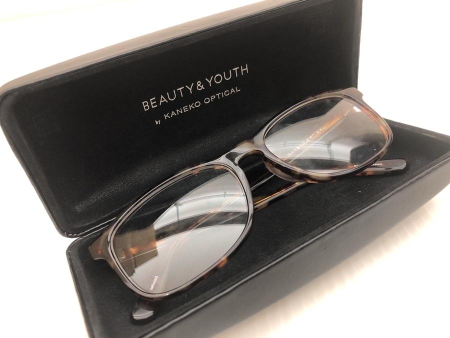 コーデにワンアクセント!BEAUTY&YOUTH×KANEKO OPTICALコラボ伊達眼鏡のご紹介。