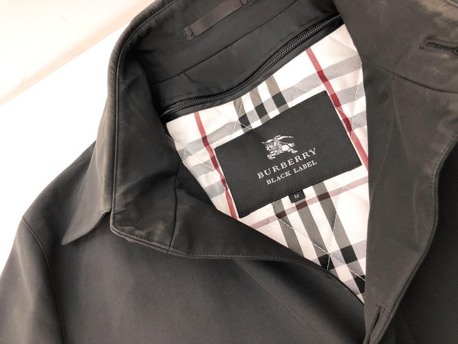 BURBERRY BLACK LABEL(バーバリーブラックレーベル) ステンカラーコートのご紹介です。