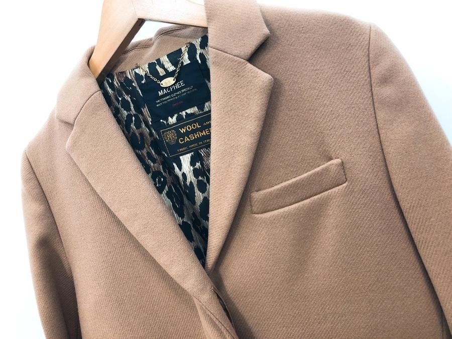 MACPHEE(マカフィー)より程よい大人カジュアル感が魅力なチェスターコートのご紹介。