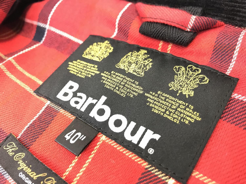 Barbour(バブアー)なのに、ノンオイルドジャケット入荷です。