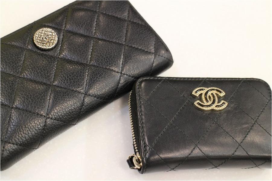 ≪CHANEL/シャネル≫マトラッセの財布&コインケース入荷!!!お買い得です♪