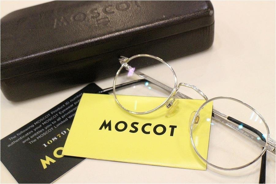 【MOSCOT/モスコット】今かけたい!!細身の知的なアイウェア入荷♪