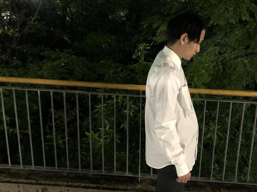 【GIVENCHY/ジバンシー】エレガントなデザイン!!さりげないデザインのシャツ入荷です!!