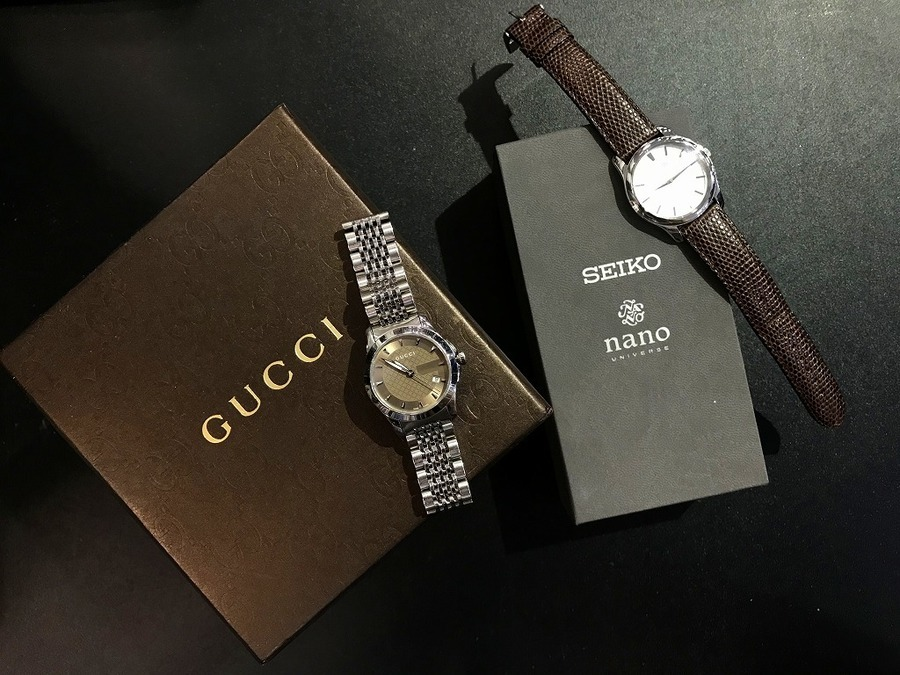 【GUCCI/グッチ】【SEIKO×nano universe/セイコー×ナノユニバース】高級腕時計ならトレファクスタイル多摩センター店!!!